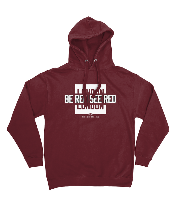 Arizona Pro Colour Bar Be Red See Red Pick 6 Apparel Hoodie - 2 Colours - Pick 6 Apparel