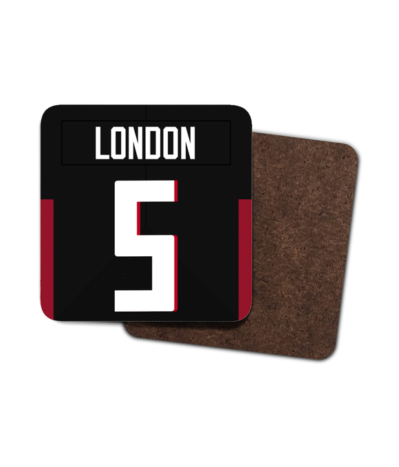 Atlanta Custom Home Jersey - Single Drinks Coaster - Pick 6 Apparel
