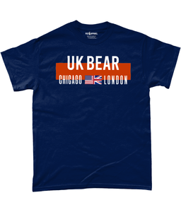 Chicago UK London Fan Pick 6 Apparel T-Shirt - Blue - Pick 6 Apparel