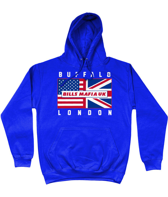 Buffalo Pro Flag Bills Mafia UK Pick 6 Apparel Hoodie - 2 Colours - Pick 6 Apparel