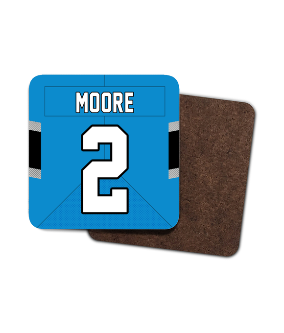 Carolina Custom Road Jersey - Single Drinks Coaster - Pick 6 Apparel