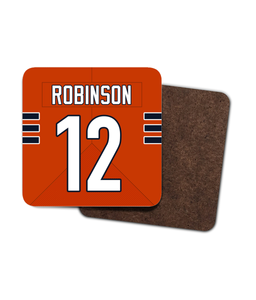 Chicago Custom Road Jersey - Single Drinks Coaster - Pick 6 Apparel