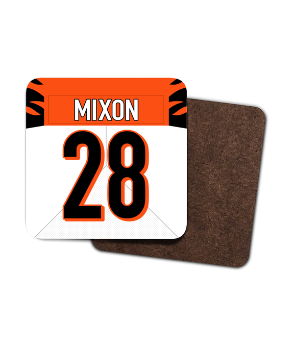 Cincinnati Custom Road Jersey - Single Drinks Coaster - Pick 6 Apparel
