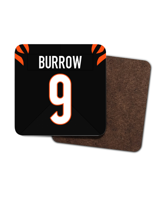 Cincinnati 2021 Custom Home Jersey - Single Drinks Coaster - Pick 6 Apparel