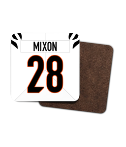 Cincinnati Custom 2021 Road Jersey - Single Drinks Coaster - Pick 6 Apparel