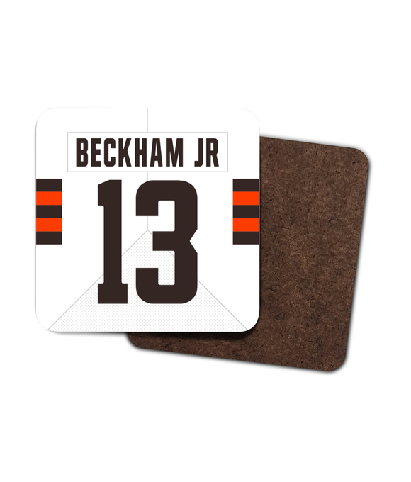 Cleveland Custom Road Jersey - Single Drinks Coaster - Pick 6 Apparel