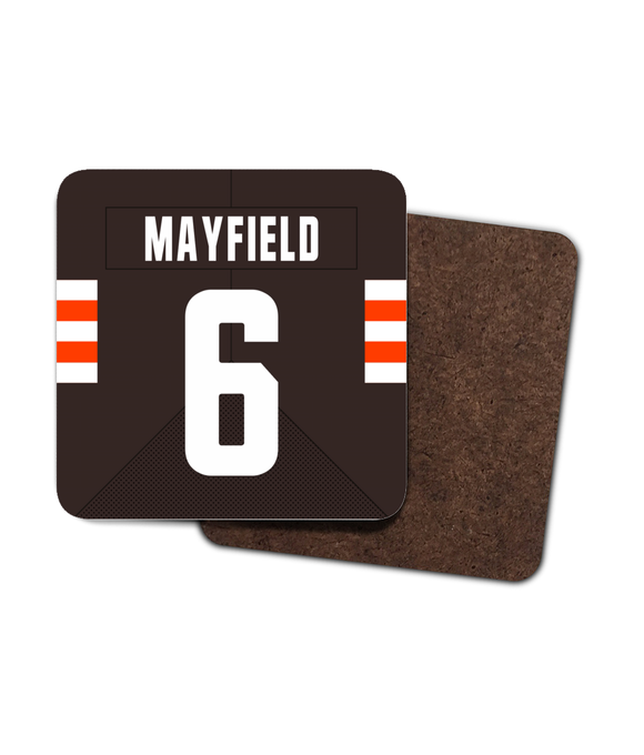 Cleveland Custom Home Jersey - Single Drinks Coaster - Pick 6 Apparel