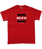 Atlanta Pro Colour Bar Rise Up UK Pick 6 Apparel T-Shirt - 2 Colours - Pick 6 Apparel