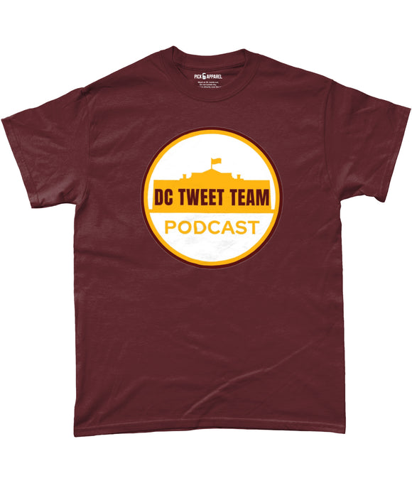 DC Tweet Team T-Shirt - 3 Colours - Pick 6 Apparel