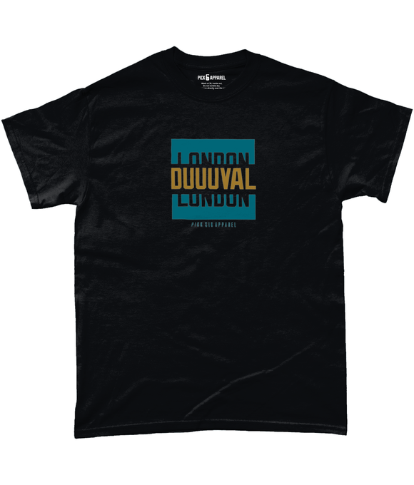 Jacksonville Pro Colour Bar DUUUVAL Pick 6 T-Shirt - 2 Colours - Pick 6 Apparel