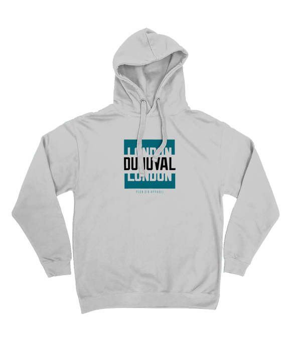 Jacksonville Pro Colour Bar DUUUVAL Pick 6 Apparel Hoodie - 2 Colours - Pick 6 Apparel