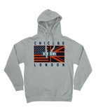 Chicago Pro Flag UK Bear Down Pick 6 Apparel Hoodie - 3 Colours - Pick 6 Apparel