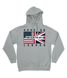 Houston Pro Flag UK 'Turn Down For Watt' Pick 6 Hoodie - 2 Colours - Pick 6 Apparel