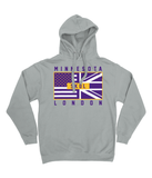 Minesota Pro Flag UK S K O L Pick 6 Apparel Hoodie - 2 Colours - Pick 6 Apparel