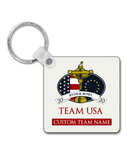 Dynasty Ryder Bowl - Customised Keyring - Team USA - Pick 6 Apparel