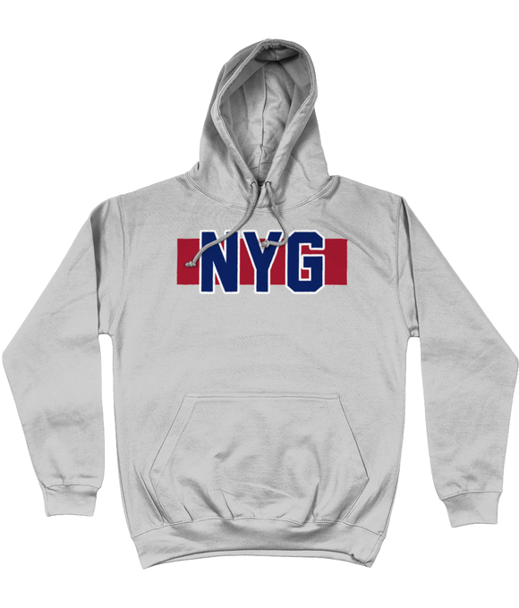 NYG Colour Code Giants UK Pick 6 Apparel Hoodie - 2 Colours - Pick 6 Apparel