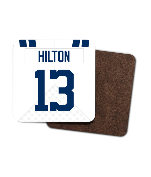 Indianapolis Custom Road Jersey - Single Drinks Coaster - Pick 6 Apparel