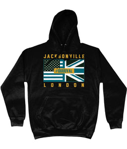 Jacksonville Pro Flag UK Duuuval Pick 6 Apparel Hoodie - 2 Colours - Pick 6 Apparel