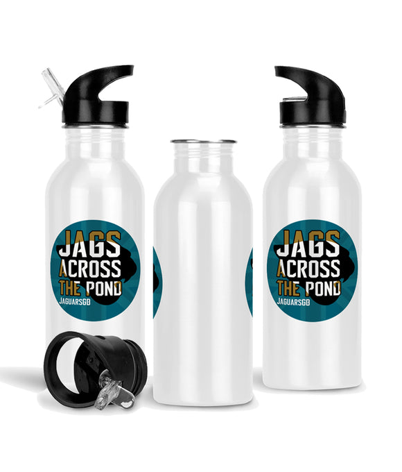 Jags Across The Pond Merchandise - 600ml Aluminium Sports Bottle - Pick 6 Apparel