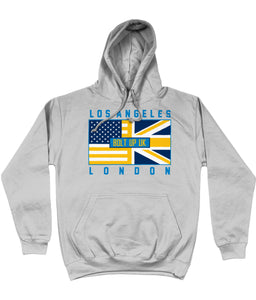 Los Angeles LAC Pro Flag Bolt Up UK Pick 6 Apparel Hoodie - 3 Colours - Pick 6 Apparel