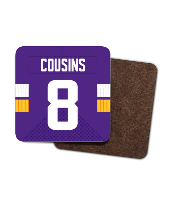 Minnesota Custom Home Jersey - Single Drinks Coaster - Pick 6 Apparel