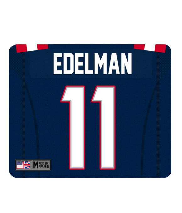 New England Custom Player Personalised Jersey Mouse Mat - Pick 6 Apparel