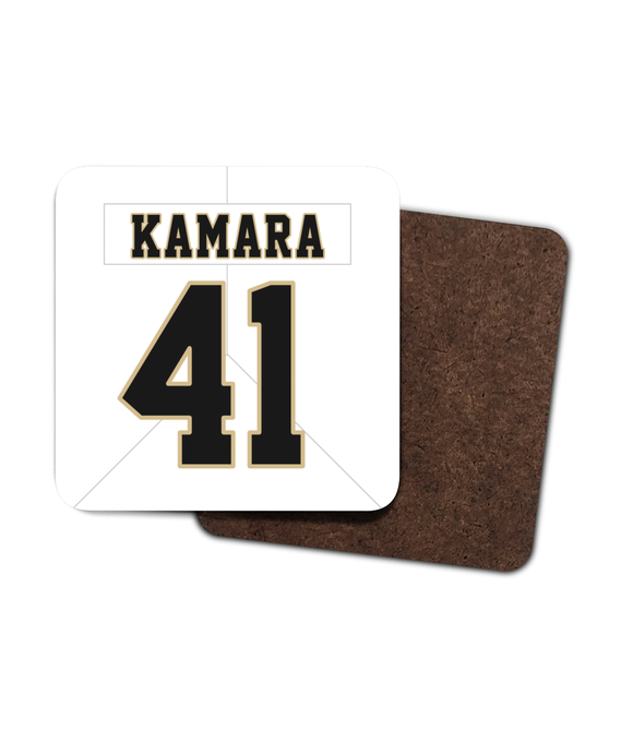 New Orleans Custom Road Jersey - Single Drinks Coaster - Pick 6 Apparel