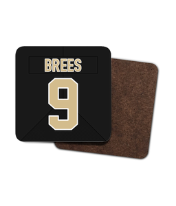 New Orleans Custom Home Jersey - Single Drinks Coaster - Pick 6 Apparel