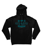 Philadelphia Pro Colour Bar Fly Eagles Fly Pick 6 Apparel Hoodie - 2 Colours - Pick 6 Apparel