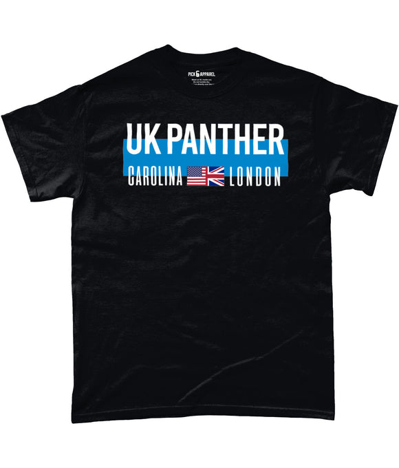 Carolina UK London Fan Pick 6 Apparel T-Shirt - 2 Colours - Pick 6 Apparel