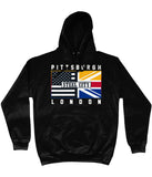 Pittsburgh Pro Flag UK Steel City Pick 6 Apparel Hoodie - 2 Colours - Pick 6 Apparel