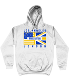Los Angeles LAR Pro Flag 'Rams Nation' UK Pick 6 Hoodie - 2 Colours - Pick 6 Apparel