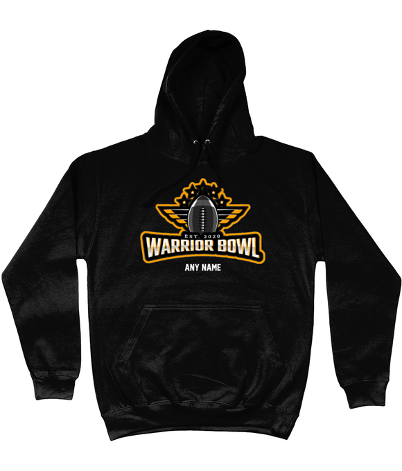 Warrior Bowl - Customised Hoodie (Black) - Pick 6 Apparel
