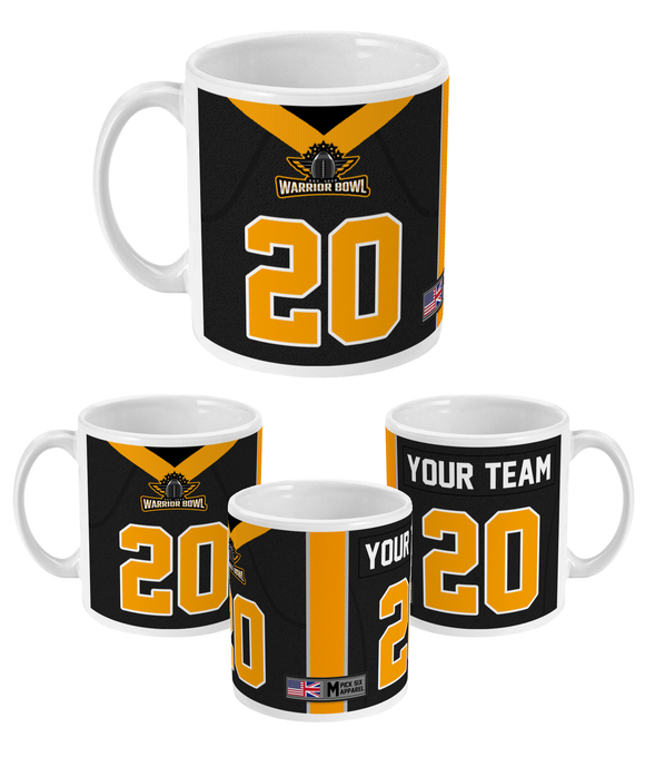 Warrior Bowl - Customised 11oz Mug - Pick 6 Apparel