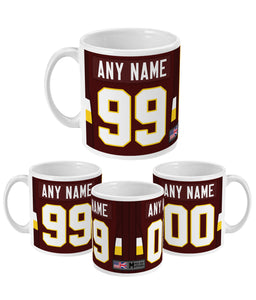 Washington Personalised Home Link Up Ceramic Mug - Pick 6 Apparel