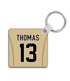 New Orleans Player Jersey Custom Personalised Link Up Keyring - Pick 6 Apparel