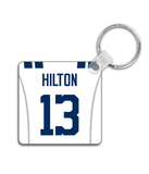 Indianapolis Player Jersey Custom Personalised Link Up Keyring - Pick 6 Apparel