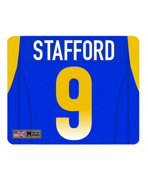 LAR Custom Player Personalised Jersey Mouse Mat - Pick 6 Apparel