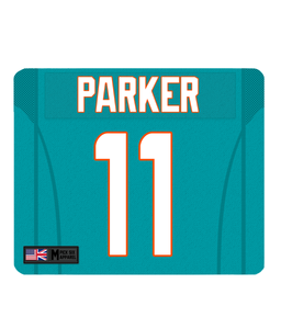 Miami Custom Player Personalised Jersey Mouse Mat - Pick 6 Apparel