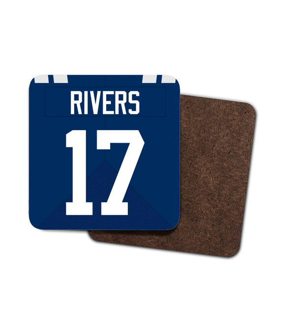 Indianapolis Custom Home Jersey - Single Drinks Coaster - Pick 6 Apparel