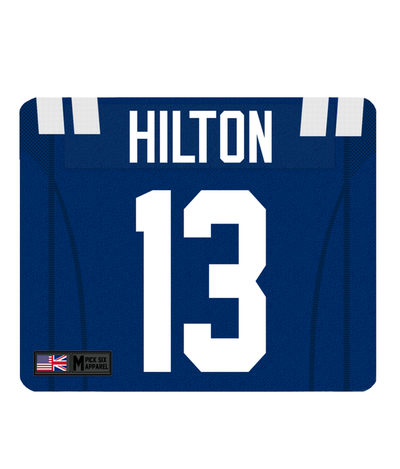 Indianapolis Custom Player Personalised Jersey Mouse Mat - Pick 6 Apparel