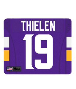 Minnesota Custom Player Personalised Jersey Mouse Mat - Pick 6 Apparel