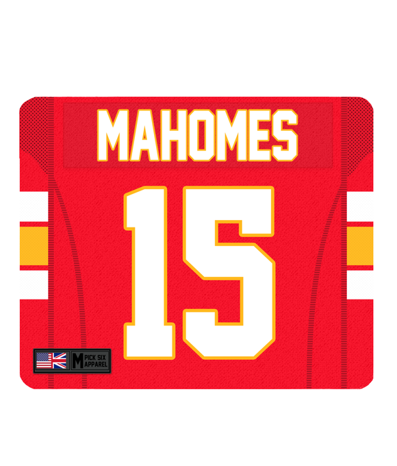 Kansas City Custom Player Personalised Jersey Mouse Mat - Pick 6 Apparel