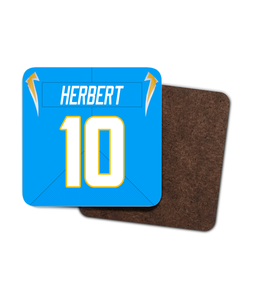 Los Angeles LAC Home Player Jersey - Single Drinks Coaster - Pick 6 Apparel