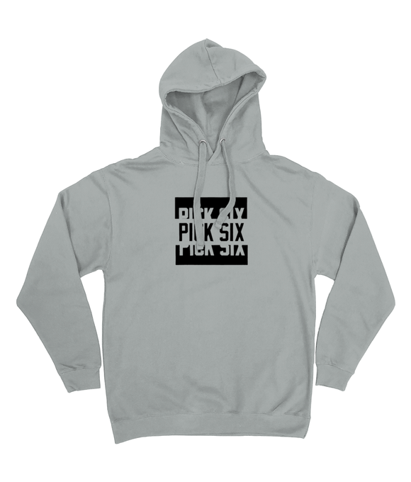 Pick 6 Apparel New Colour Bar Cotton Hoodie - Grey - Pick 6 Apparel
