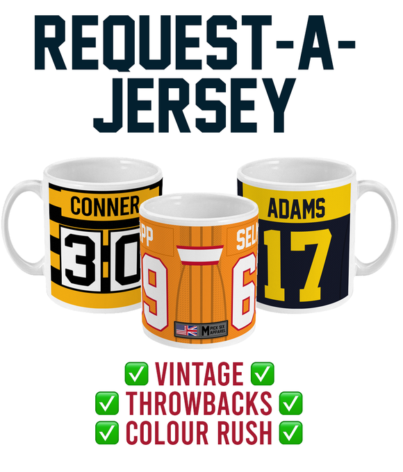 'Request-a-Jersey' Link Up Ceramic Mug - Pick 6 Apparel