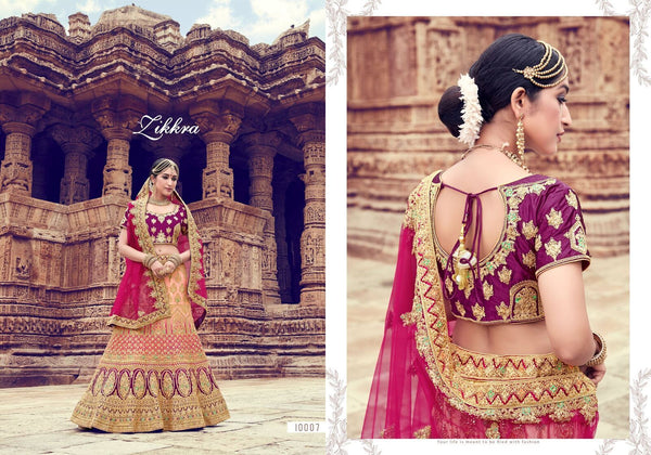 Colourful Bridal Lehenga Choli for Online Sales at Cheapest Prices by Fashion Nation