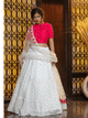 Celebrations Wear Tiered Lehenga by Fashion Nation