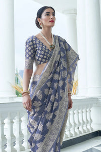 Everyday Fashion Banarasi Lucknowi Saree at cheapest Prices by Fashion Nation