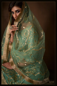 Evening Party Wear Reception Special Sharara Suit